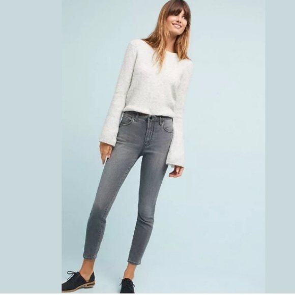 Anthropologie Denim - ANTHROPOLOGIE PILCRO Grey High Rise Skinny Jeans